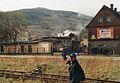 Kowary train station, Kowarski Grzbiet, 11.4.1998r.jpg