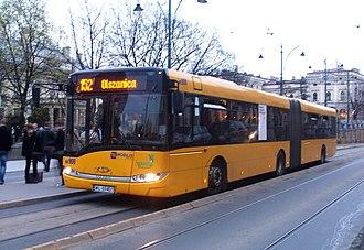 Solaris Urbino 18 - Image: Krakow, Solaris Urbino 18 Mobilis line 152