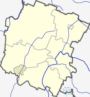 Kretinga District Municipality - Image: Kretingos rajono zemelapis