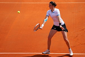 Kristina Barrois - Barrois at the 2012 Open GDF Suez de Cagnes-sur-Mer Alpes-Maritimes