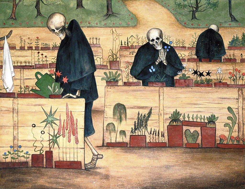 Kuoleman Puutarha by Hugo Simberg