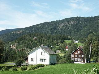 Vestre Slidre Municipality in Oppland, Norway