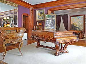 Musée de l'École de Nancy - Former living room of Corbin