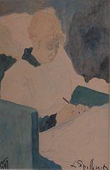 De briefschrijfster