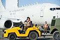 LAC Matt Ellicock and CPL Matt Roberts of the Ohakea Air Movement Section, Royal New Zealand Air Force..jpg