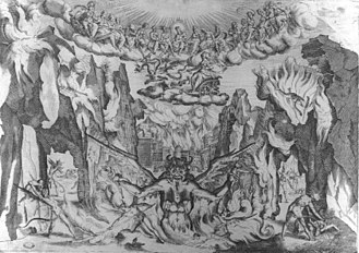 Intermedio - Another of the 1589 intermedi: number 4: the demons lament that with the coming of the Golden Age there will be no more souls to torment.