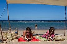 Mozambique-Tourism-La plage aux dunes de Dovela - 2012-04-28 - 75154574