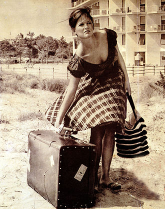 Claudia Cardinale - Cardinale in Girl with a Suitcase (1961)