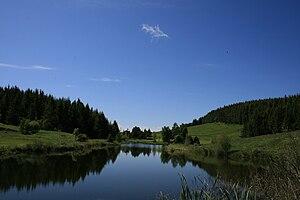 Route Napoléon - Image: Lac au col Bayard