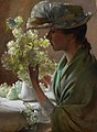 Lady with a Bouquet by Charles Courtney Curran - BMA.jpg