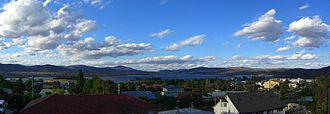 Jindabyne, New South Wales - Jindabyne, as viewed from across Lake Jindabyne
