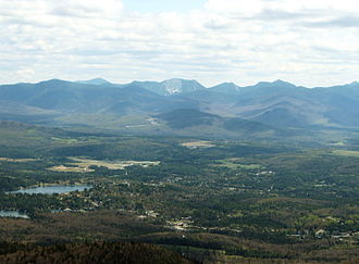 Lake Placid, New York - Lake Placid from McKenzie Mountain