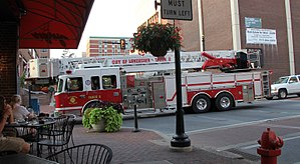 Lancaster, Pennsylvania - Fire vehicle in Lancaster