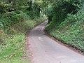 Lane between Exminster and Kenn, junction in distance - geograph.org.uk - 950987.jpg