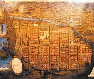 b42b38edbe43 El plano muestra el estilo damero con que fue construida la ciudad de La  Paz