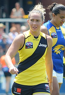 Laura Bailey (footballer) Australian rules footballer