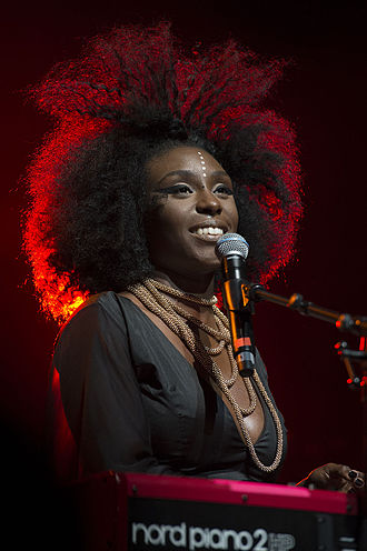 Laura Mvula - Mvula performing at the 2014 Montreux Jazz Festival