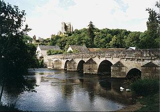 Loir - The Loir in Lavardin