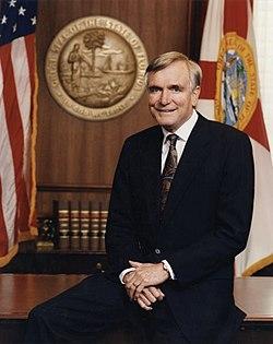 Lawton chiles governor portrait