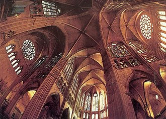 León Cathedral - Vaulting of the crossing