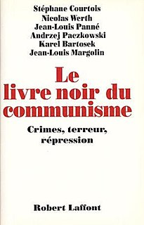 <i>The Black Book of Communism</i> 1997 book by Stéphane Courtois