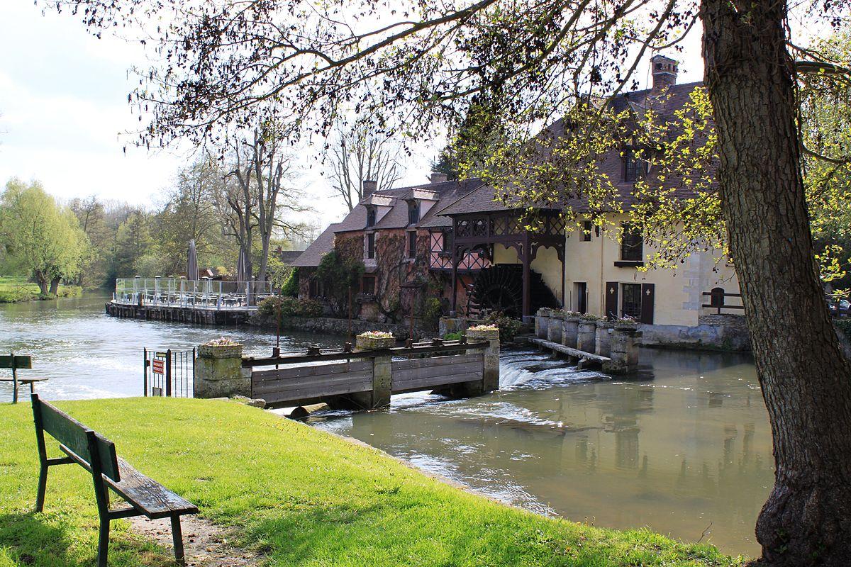 Fourges wikip dia - Le port du moulin champtoceaux ...