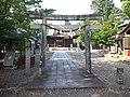 Le Temple Shintô Futagawa-hachiman-jinja - Le torii devant l'haiden.jpg