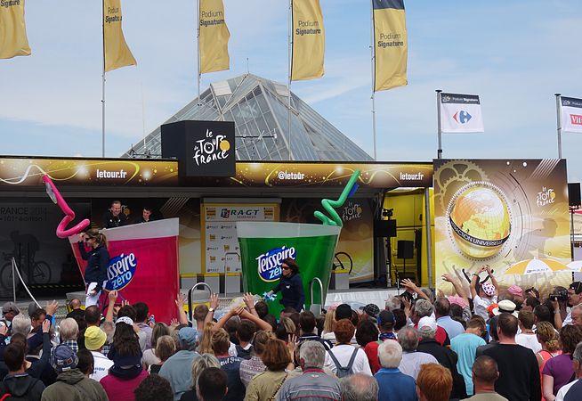 Le Touquet-Paris-Plage - Tour de France, étape 4, 8 juillet 2014, départ (A43).JPG