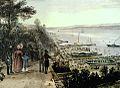 Le lancement du Royal William en 1831 - James Pattison Cockburn.jpg