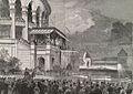 Le maréchal-président de la république proclamant, du haut de la terrasse du Trocadéro, l'ouverture de l'exposition universelle.jpg