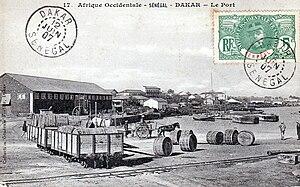 Autonomous Port of Dakar - The port, c. 1905
