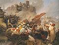 Leander Russ, Sturm der Türken auf die Löwelbastei 1683.jpg