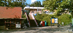Leiden Lammenschans railway station - Image: Leiden Lammenschans Station