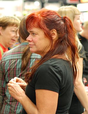 Lena Ackebo - Lea Ackebo at the Gothenburg Book Fair in September 2010