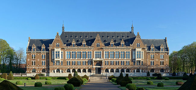 The Universite d'Artois' campus in Lens sits in the ancient headquarters of Compagnie des mines. Lens Grands Bureaux de la Compagnie des mines.jpg