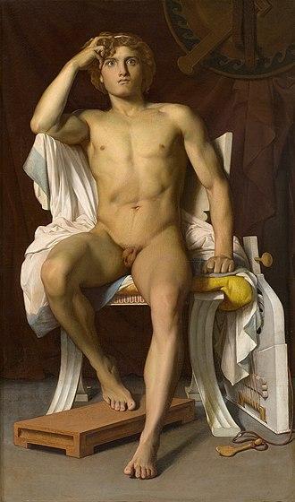 Musée Fabre - Image: Leon Benouville The Wrath of Achilles