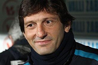 2010–11 Coppa Italia - Leonardo won his first title as coach