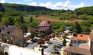 Les Eyzies-de-Tayac-Sireuil - The town centre