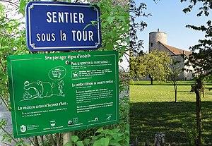 """Bardonnex - Sentier sous la Tour 46° 9' 37.8"""" N, 6° 7' 33"""" E"""