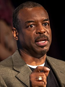 Levar Burton, Disney Social Media Moms Conference 2014, 2-crop.jpg
