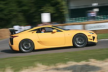 Car And Driver: Lexus LFA Vs Ferrari 599 GTB W/ HGTE Track Package[edit]