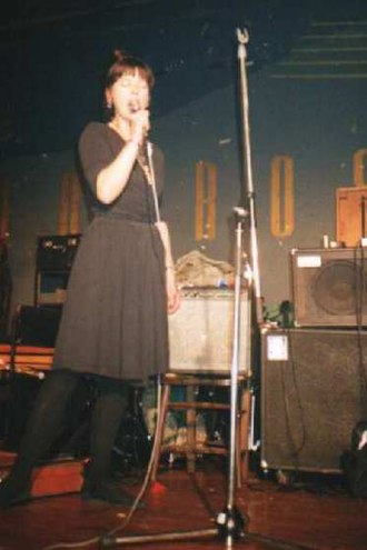 Eve Libertine - Eve Libertine performing at the Red Rose club, Finsbury Park, London, 1991