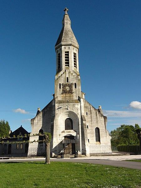 Liez (Aisne) église