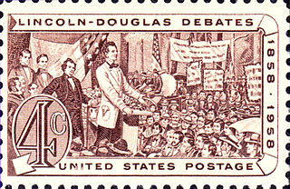 Lincoln–Douglas debates A series of seven debates between Abraham Lincoln and Stephen Douglas