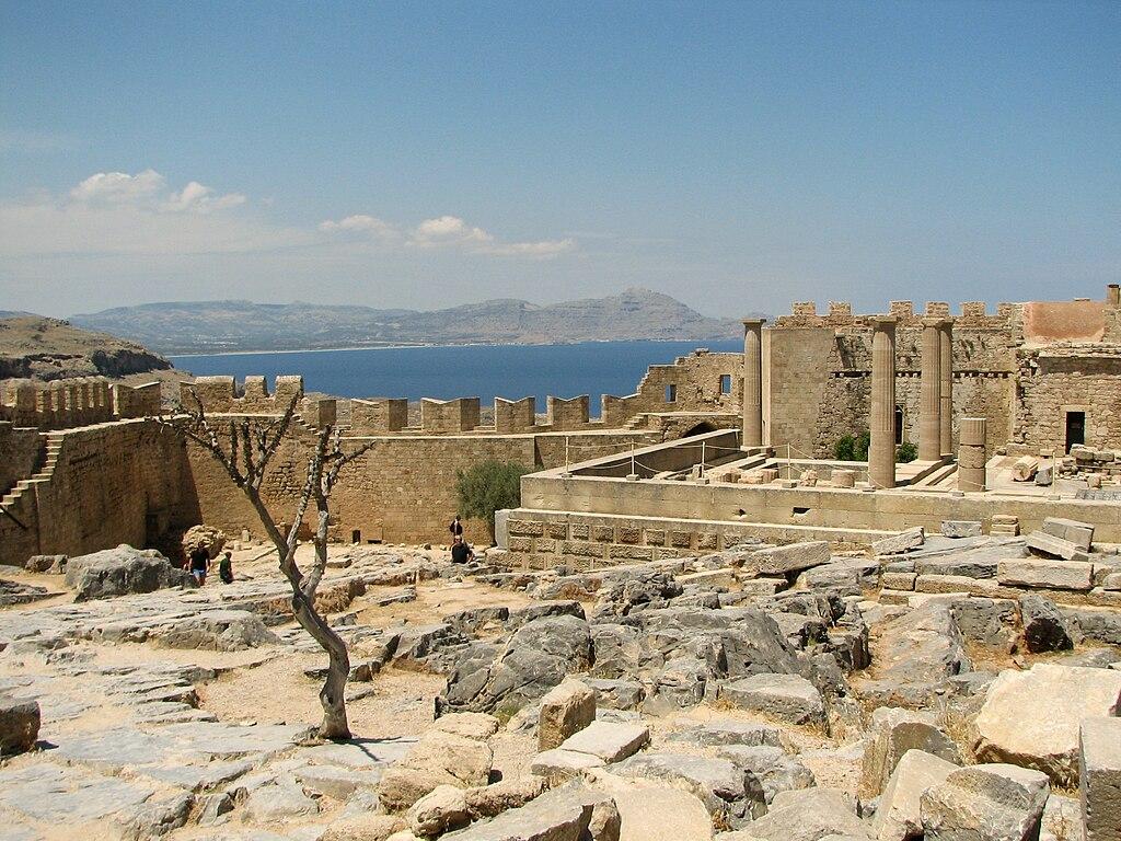 Rhodes Greece  city photos gallery : Acropolis of Lindos, Rhodes, Greece