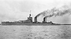 David Beatty, 1st Earl Beatty - HMS Lion, flagship of the battlecruiser squadron