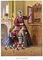 Lithography by Kronheim and Co for A Visit to Aunt by Agnes Agnes Giberne-The Cabinet.jpg