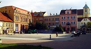 Litvínov Town in Ústí nad Labem, Czech Republic