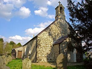 Llangybi, Ceredigion - Image: Llangybi Parish Church