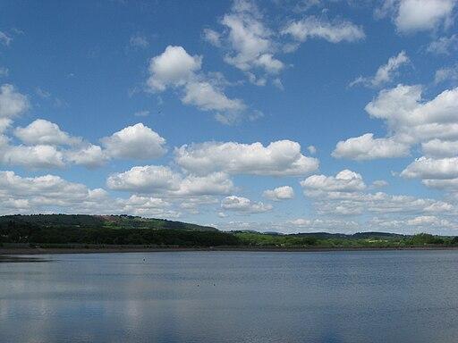 Llanishen reservoir - partially drained